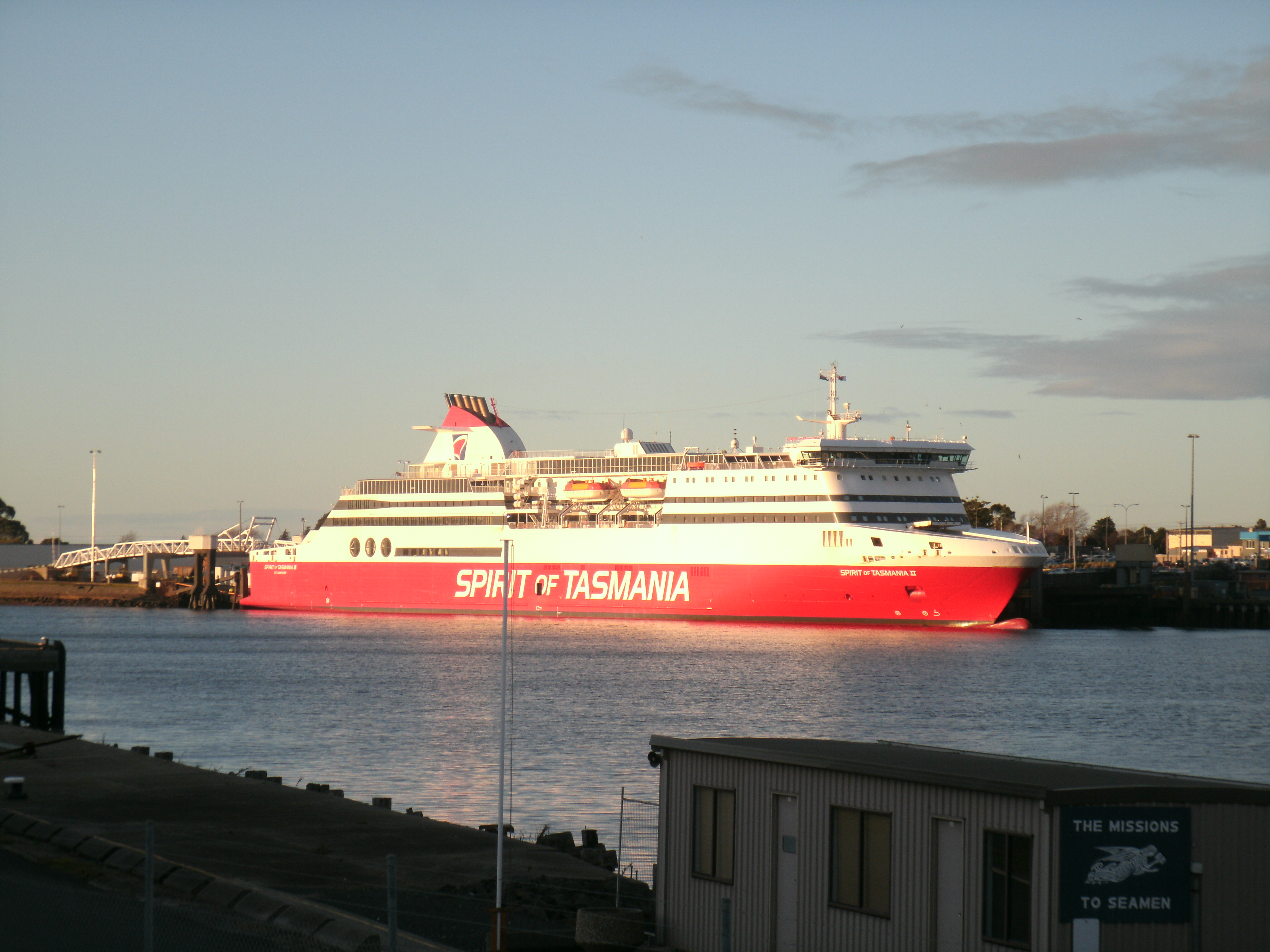 Snapshot Sunday:Spirit of Tasmania