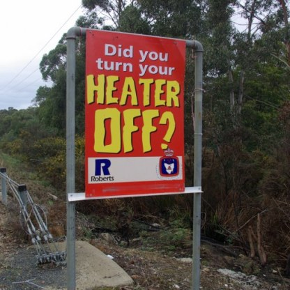 House fires are often an issue in winter.
