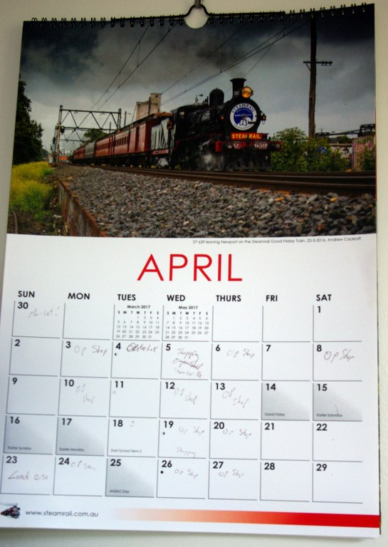 calender page
