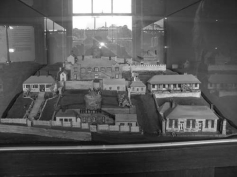 A model of Port Arthur Historic Site. This was made to show how it looked originally. Many buildings were destroyed in bushfires.