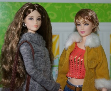 The Barbie Look Sweater Dress and Insurgent Tris
