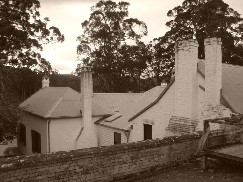 Rear of house at Port Arthur