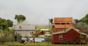 A country scene in miniature