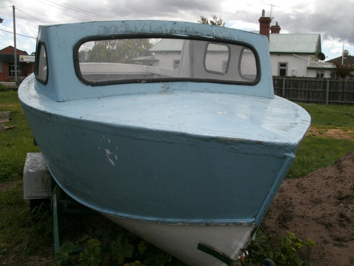 Snapshot Sunday: Vintageboat.