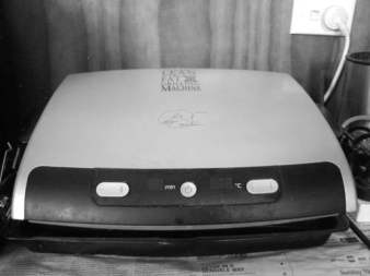 My George Foreman Grill. This is great and very easy to clean.