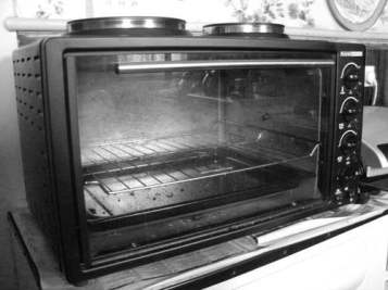 My small Rank Arena oven. When my big one died I got this. It's worth it's weight in gold.
