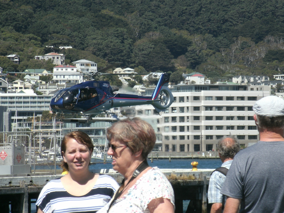 Bad Photo Monday: Help!There is a chopper about to land on my head!