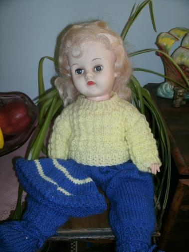 vintage 60's doll
