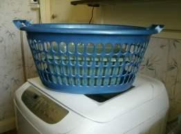 My laundry basket.