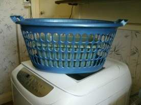 My laundry basket.