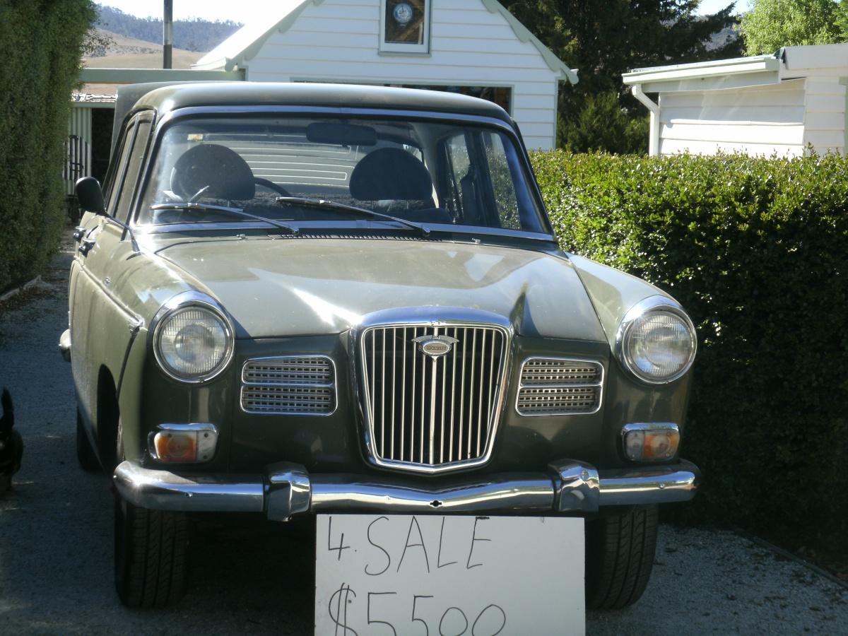 Vintage Car :Wolseley