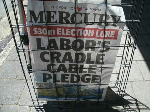 The Merc is Tassie's Newspaper.