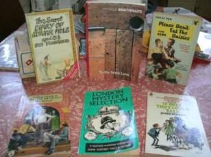 A few of my novels.