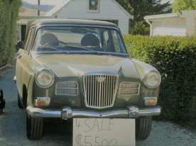 A Wolseley for sale in Oatlands