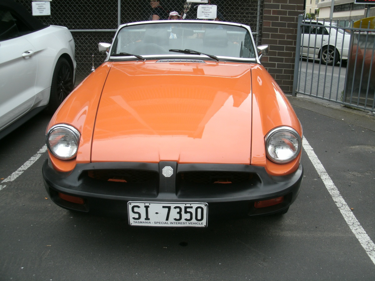 Snapshot Sunday: Vintage Car MG