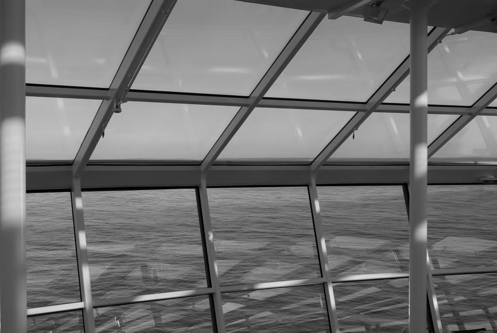 Cee's Black & White Photo Challenge: Through AWindow