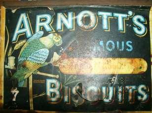 Arnotts paper label