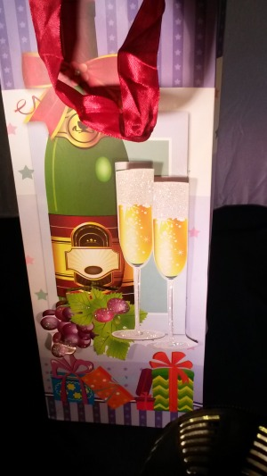 Gift bag for a bottle
