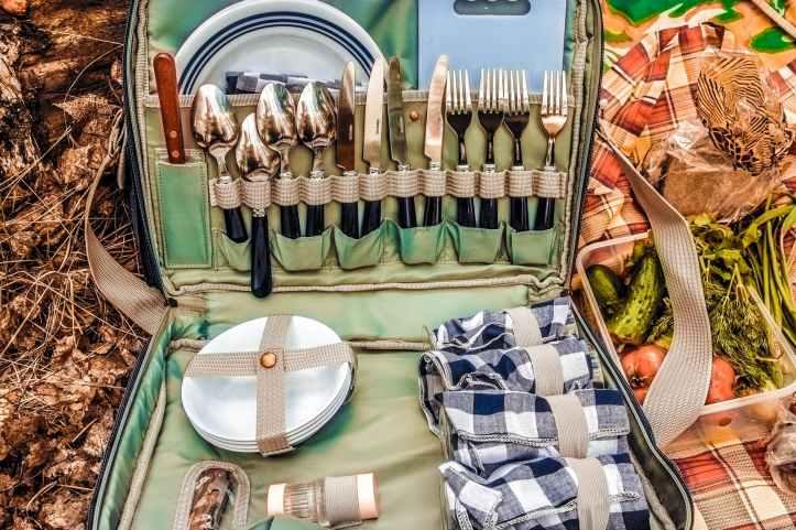 bag cutlery equipment food
