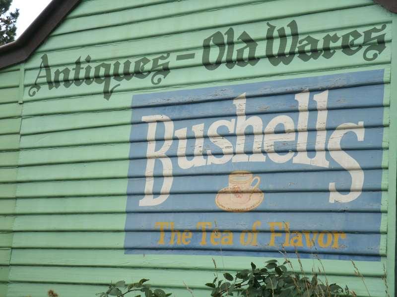 Snapshot Sunday : Bushells TeaSign