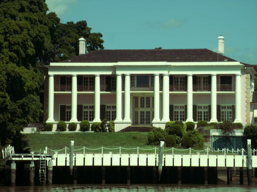 House on the Brisbane River