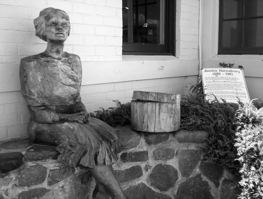 Cee's Black & White Photo Challenge: Sculptures, Statues & Carvings