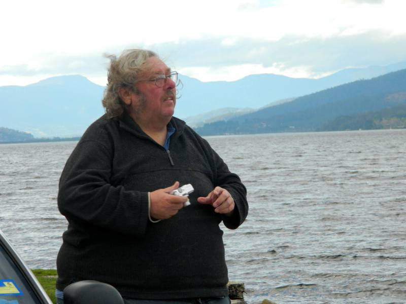 David at Port Huon 2014