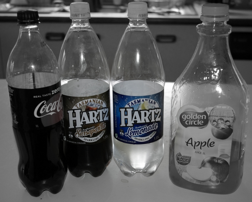 Cee's Black & White Photo Challenge: Liquid Drinks (Hot or Cold)