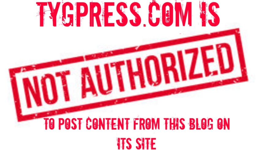 Tygpress not authorized