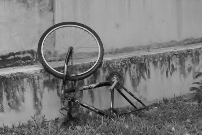 Cee's Black & White Photo Challenge: Wheels