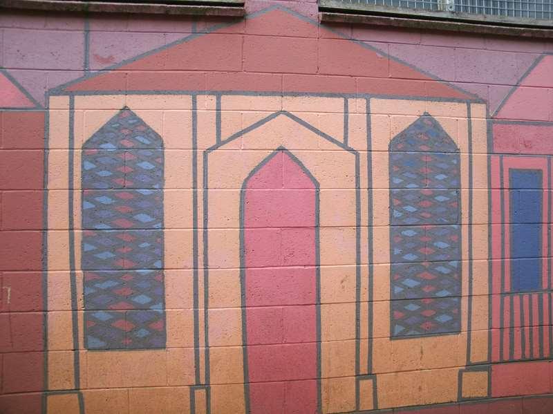 Mural at NewNorfolk