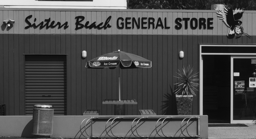 Cee's Black & White Photo Challenge: Storefront Signs
