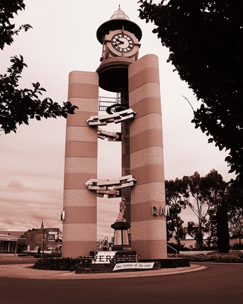 Clock Tower, Ulverstone , Tasmania