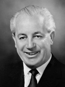 Harold Holt Prime Minister of Australia. Disappeared in the sea of Portsea Victoria 17/12/67